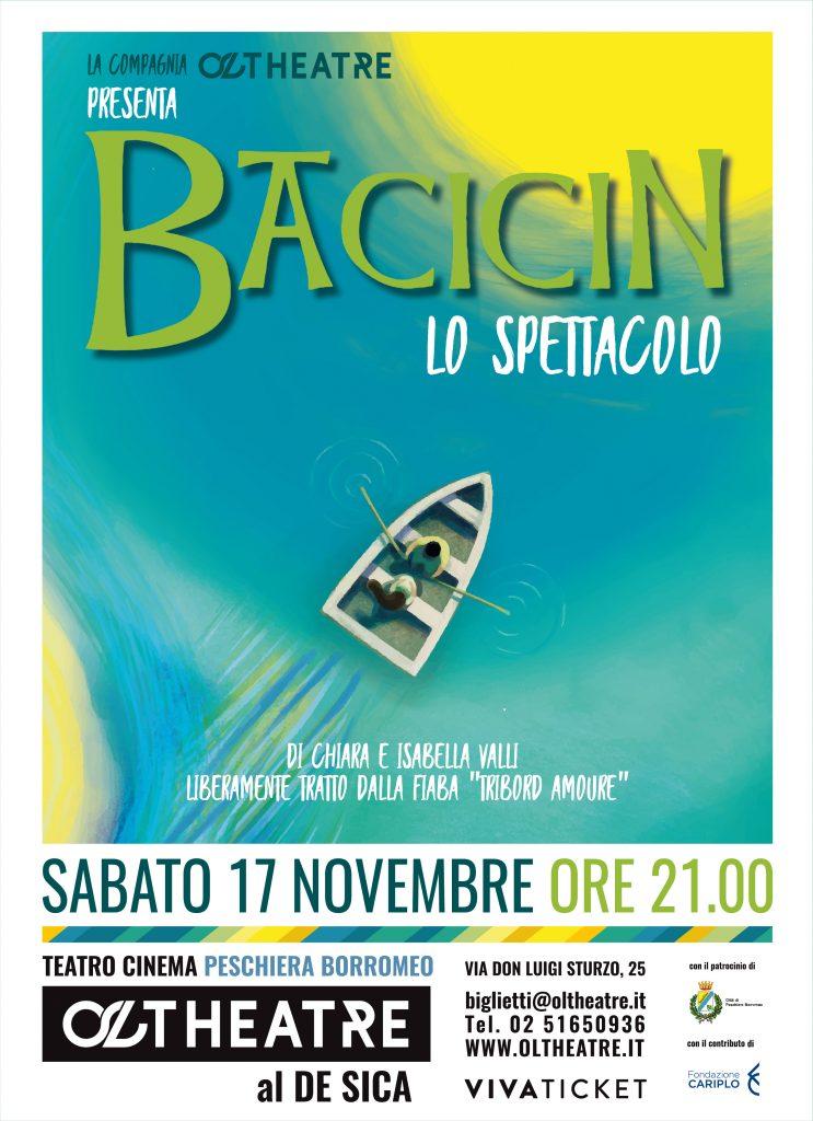 """Immagine coordinata stagione 2018/2019 - Illustrazione e grafica manifesto """"Bacicin"""""""