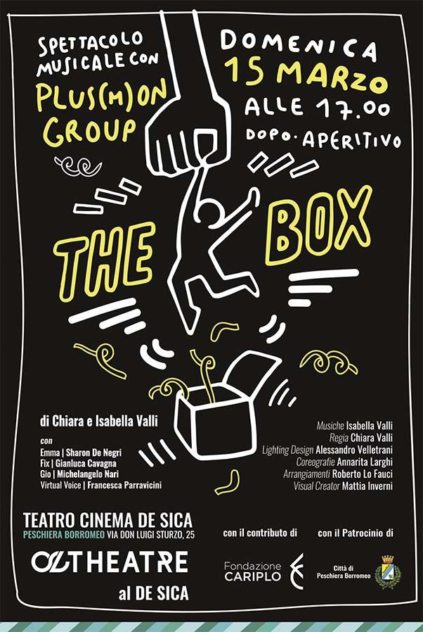 """Immagine coordinata stagione 2019/2020 - Illustrazione e grafica manifesto """"The Box"""""""