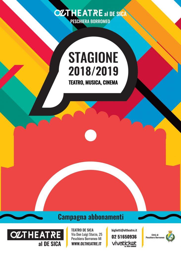 Immagine coordinata stagione 2018/2019 - Progetto grafico e illustrazione campagna abbonamenti